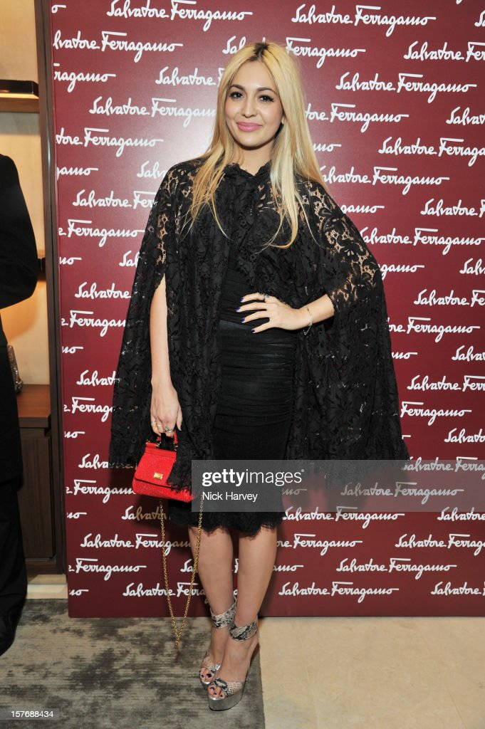 Zara Martin attends the flagship store launch of Salvatore Ferragamo's Old Bond Street Boutique at 24 Old Bond Street on December 5, 2012 in London, England.