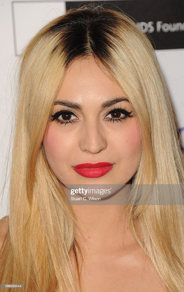 Zara Martin attends the Grey Goose Winter Ball at Battersea Power station on November 10, 2012 in London, England.