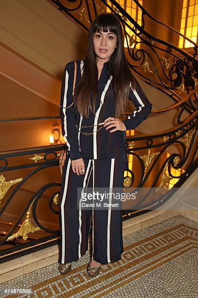 Zara Martin attends the launch of Veuve Clicquot RICH hosted by Solange Knowles at Cafe Royal on May 27, 2015 in London, England.