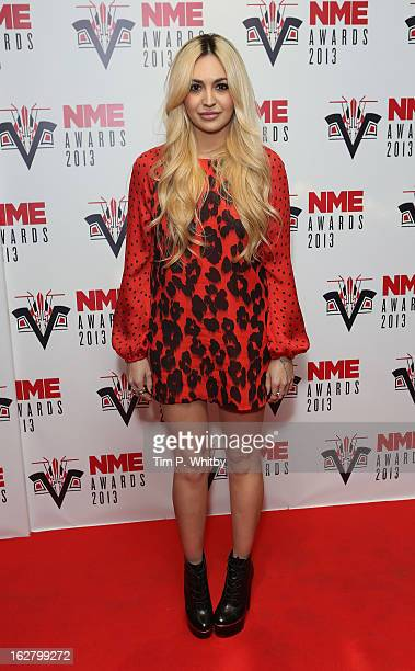 Zara Martin attends the NME Awards 2013 at the Troxy on February 27 2013 in London England