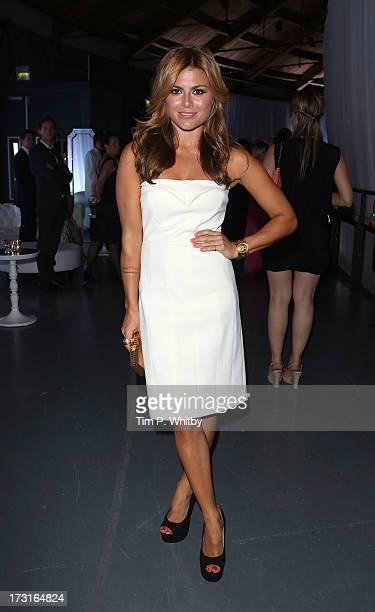 Zara Martin attends the Novak Djokovic Foundation inaugural London gala dinner at The Roundhouse on July 8 2013 in London England The foundation...