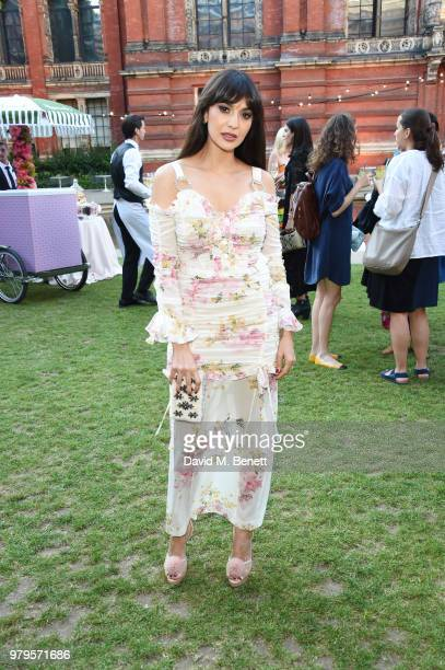 Zara Martin attends the Summer Party at the VA in partnership with Harrods at the Victoria and Albert Museum on June 20 2018 in London England