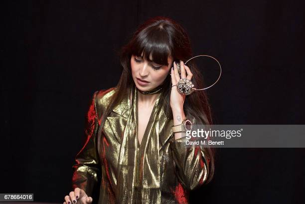 Zara Martin attends The Watch Gallery and Hublot launch introducing the Limited Edition Classic Fusion Aerofusion Chronograph at Aqua Kyoto on May 4...