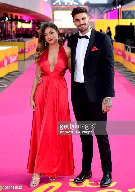 Zara McDermott and Adam Collard attending the ITV Palooza held at the Royal Festival Hall Southbank Centre London