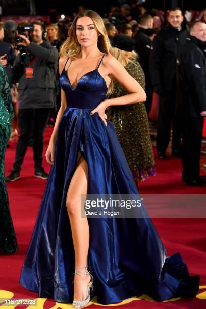 Zara McDermott attends the ITV Palooza 2019 at The Royal Festival Hall on November 12, 2019 in London, England.