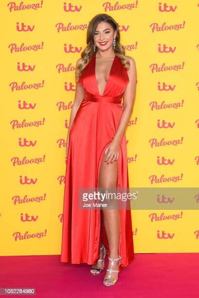 Zara McDermott attends the ITV Palooza held at The Royal Festival Hall on October 16 2018 in London England