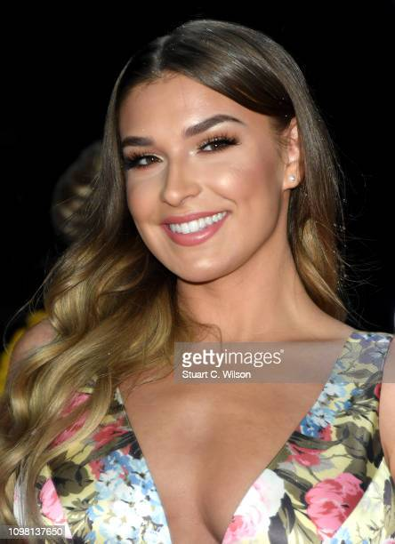 Zara McDermott attends the National Television Awards held at the O2 Arena on January 22 2019 in London England