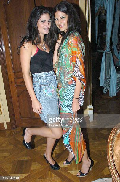 Zara Nicholls and Stephanie Carter at the Ruby Rabbit Welcomes Summer party in Darlinghurst Sydney 14 December 2006 SHD Picture by ADAM MCLEAN