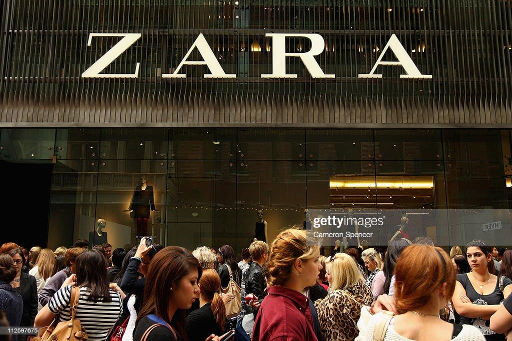 Zara Sydney Store Opening : News Photo