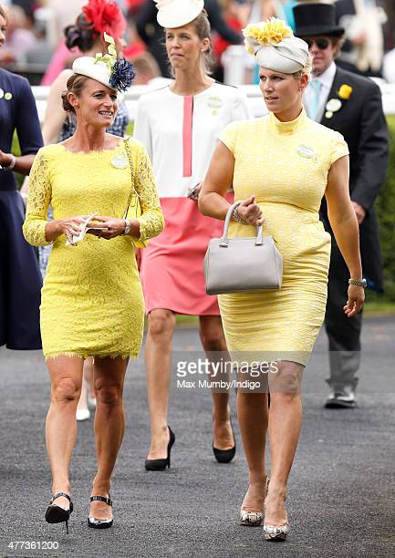 Zara Phillips and Dolly Maude attend day 1 of Royal Ascot at Ascot Racecourse on June 16 2015 in Ascot England