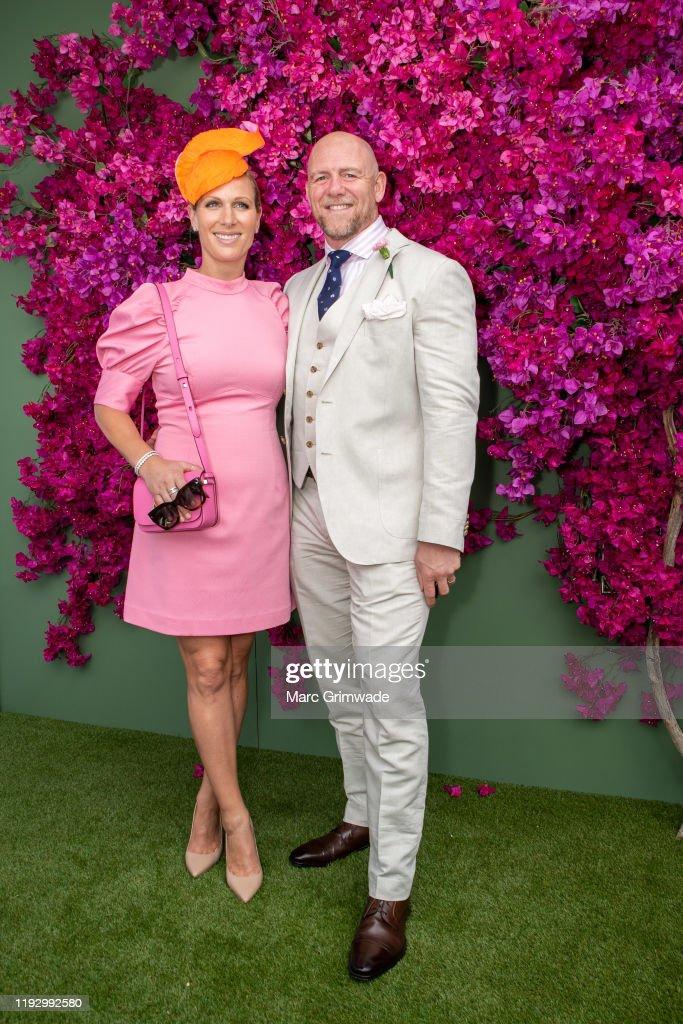 Celebrities Attend 2020 Magic Millions Raceday : News Photo