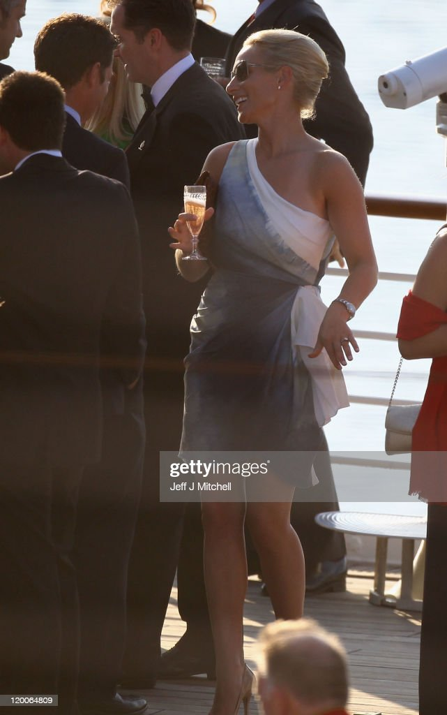 Zara Phillips And Mike Tindall Host Pre Wedding Party On Royal Yacht Britannia