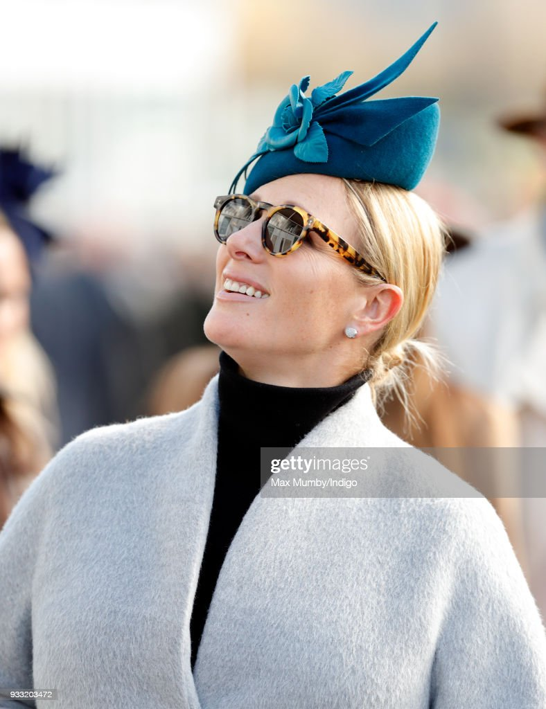 Zara Zwangerschapskleding.Zara Phillips Attends Day 3 St Patrick S Thursday Of The