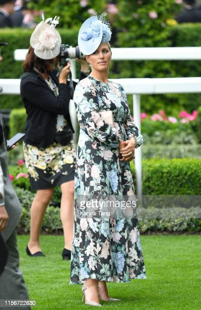 Zara Phillips attends day one of Royal Ascot at Ascot Racecourse on June 18 2019 in Ascot England