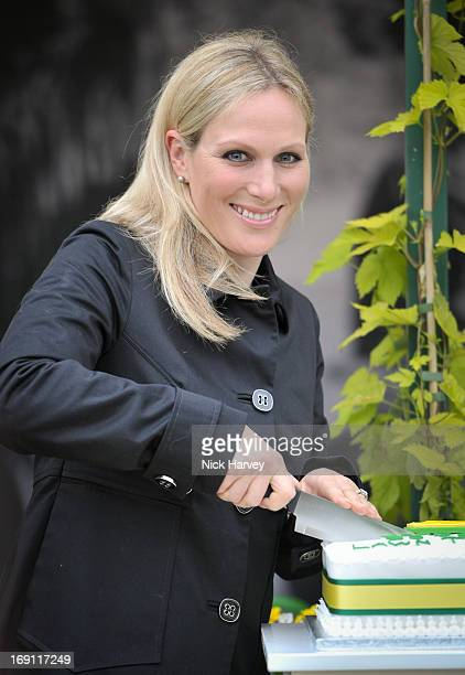 Zara Phillips attends the Chelsea Flower Show press and VIP preview day at Royal Hospital Chelsea on May 20, 2013 in London, England.