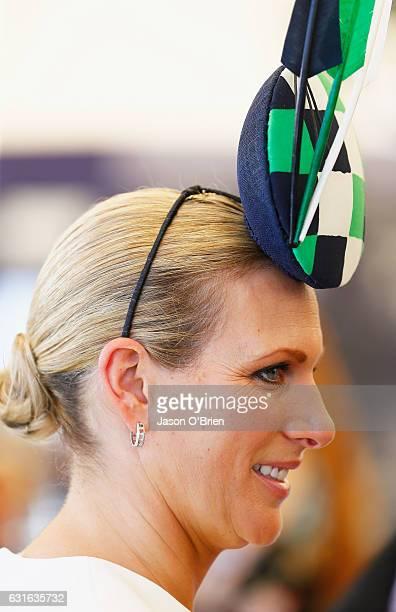 Zara Phillips attends the Magic Millions Raceday on January 14 2017 in Gold Coast Australia