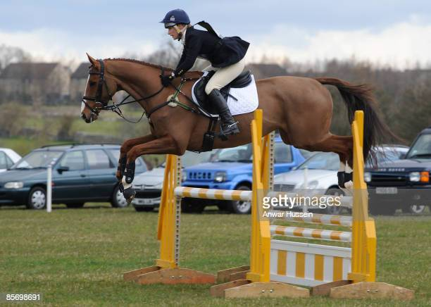 Zara Phillips competes during day 2 of Gatcombe Horse Trials on March 29, 2009 at Gatcombe Park in Stroud, England.