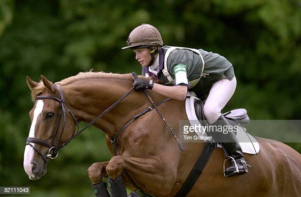 Zara Phillips, Daughter Of Princess Anne, Competing In The Cornbury Park Horse Trials In Oxfordshire. She Rode Her Novice Horse Called Toytown And...
