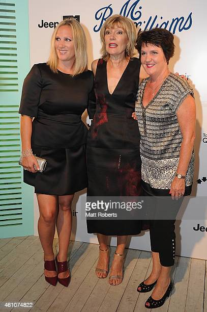 Zara Phillips, Katie Page-Harvey and Jann Stuckey attend the Opening night event for Magic Millions Raceday on January 6, 2015 on the Gold Coast,...