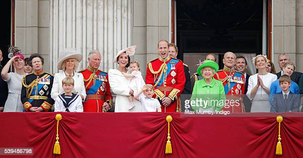 Zara Phillips Princess Anne The Princess Royal Camilla Duchess of Cornwall Prince Charles Prince of Wales Catherine Duchess of Cambridge Princess...