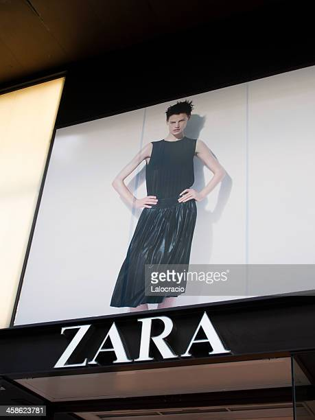 zara - commerciële activiteit stockfoto's en -beelden