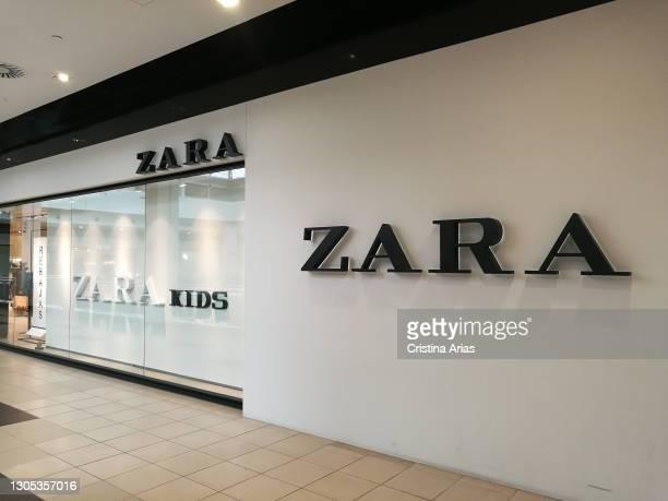 Zara shop in Moraleja Green shopping center in Alcobendas, Madrid, Spain.