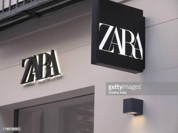 Zara shop in Preciados street in Madrid Spain