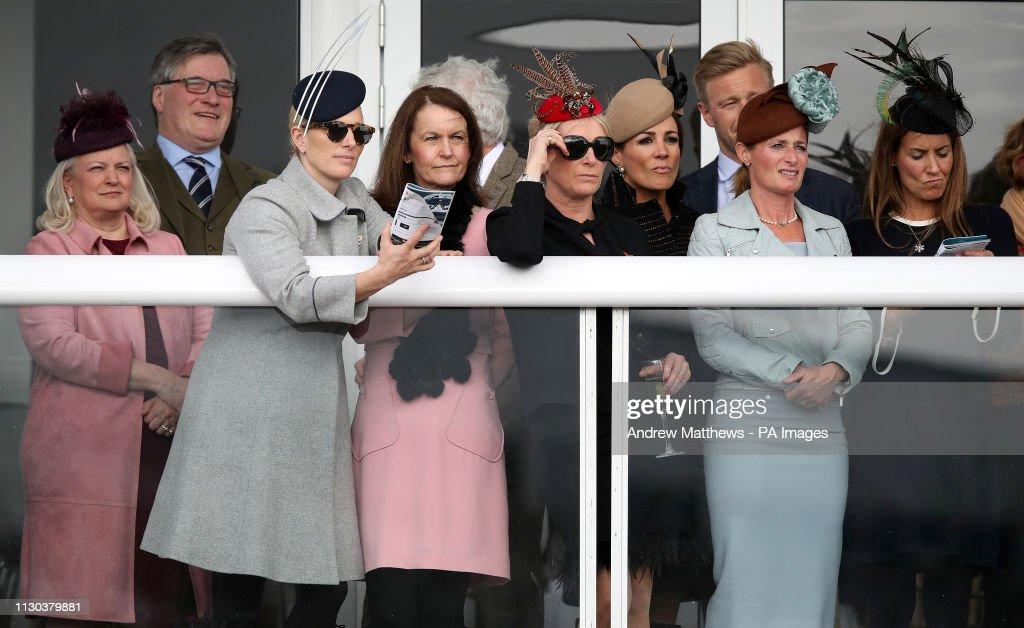 2019 Cheltenham Festival - St Patrick's Thursday - Cheltenham Racecourse : News Photo