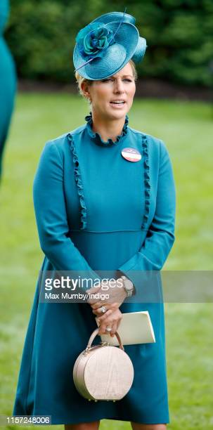 Zara Tindall attends day three Ladies Day of Royal Ascot at Ascot Racecourse on June 20 2019 in Ascot England