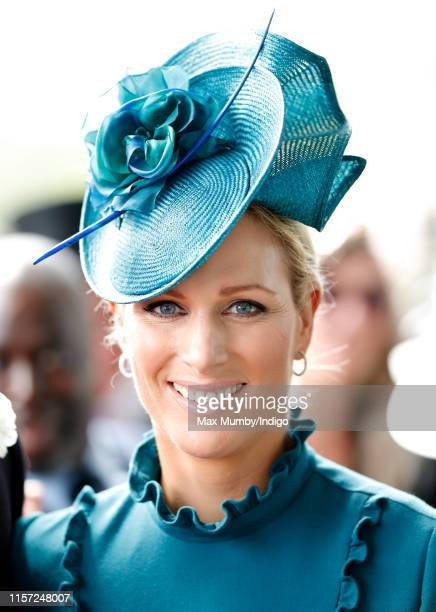 Zara Tindall attends day three, Ladies Day, of Royal Ascot at Ascot Racecourse on June 20, 2019 in Ascot, England.