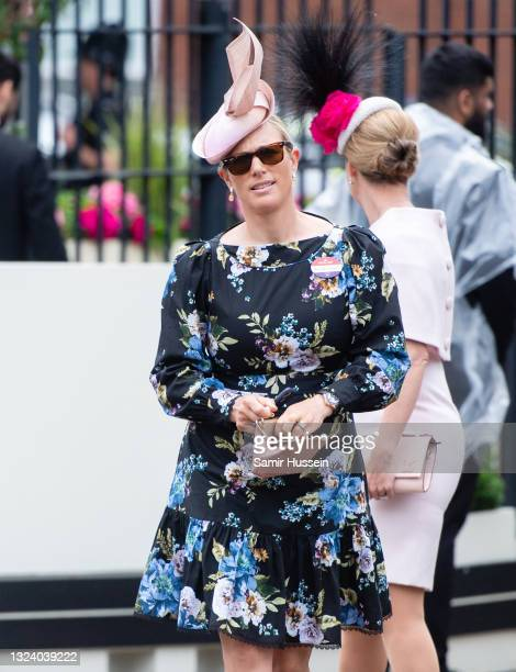 Zara Tindall attends Royal Ascot 2021 at Ascot Racecourse on June 17, 2021 in Ascot, England.