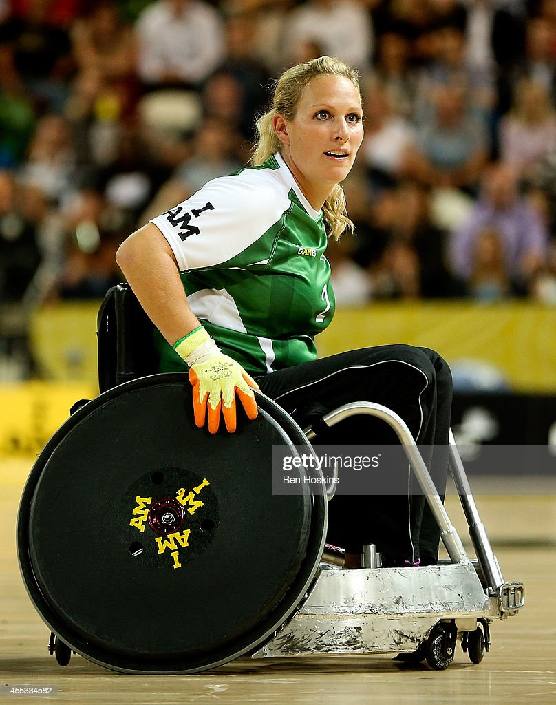 Zara Tindall of team Invictus looks on during Day Two of the Invictus Games at Olympic Park on September 12, 2014 in London, England.