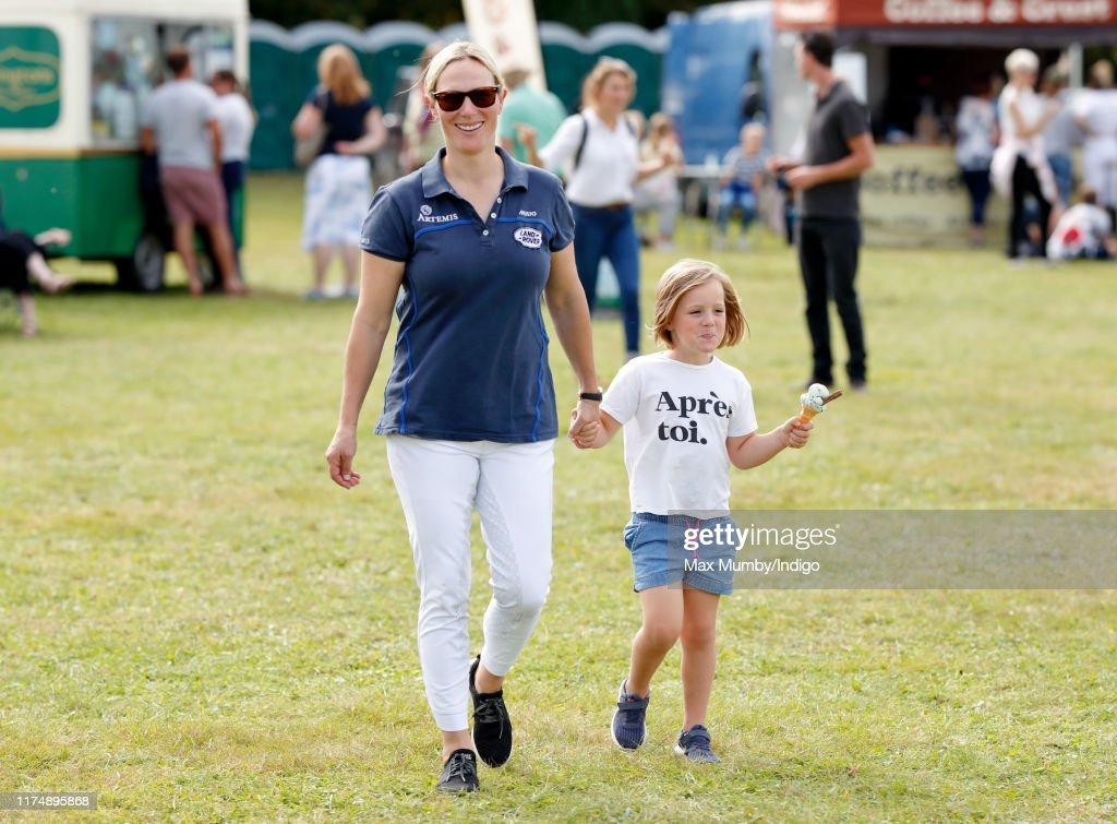 Gatcombe Horse Trials at Gatcombe Park : ニュース写真