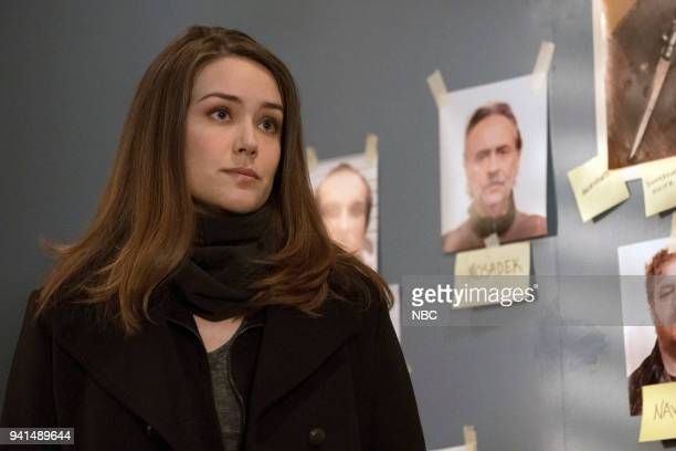 THE BLACKLIST Zarak Mosadek Episode 518 Pictured Megan Boone as Elizabeth Keen