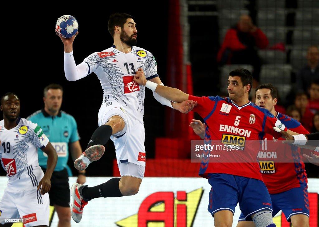 Serbia v France - EHF Euro Croatia 2018