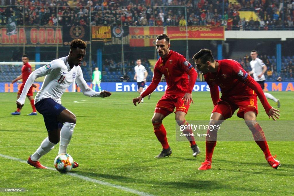 Montenegro v England - UEFA EURO 2020 Qualifier : News Photo