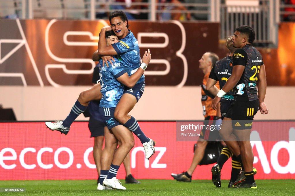 Super Rugby Aotearoa Rd 10 - Blues v Chiefs : News Photo