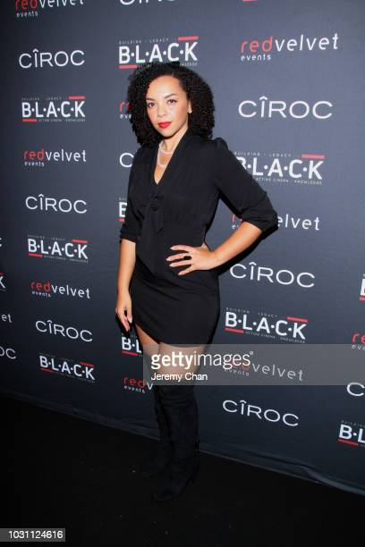 Zarrin DarnellMartin attends Stephan James And Shamier Anderson Host Third Annual BLACK Ball at TIFF Bell Lightbox on September 10 2018 in Toronto...