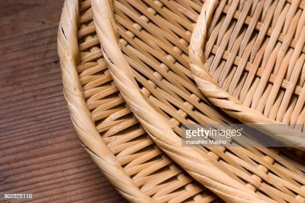 Zaru, Japanese Bamboo Basket
