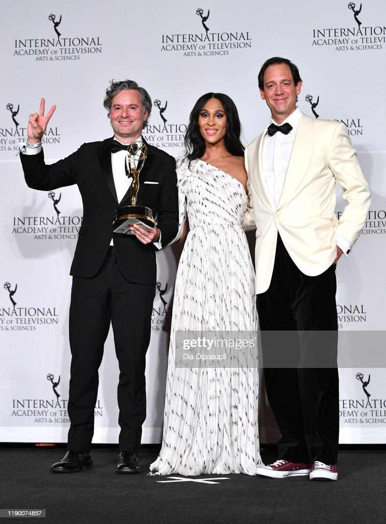 2019 International Emmy Awards Gala : News Photo