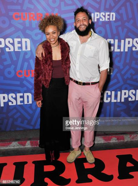 Zasmin and Sake One attend the celebration of Women's History Month on it's Opening Night of Eclipsed at the Curran Theater on March 9 2017 in San...