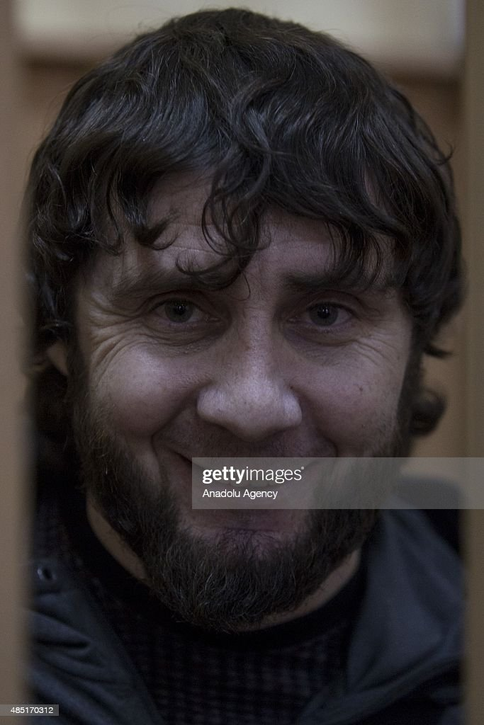 Zaur Dadaev, charged with the murder of Russian opposition figure Boris Nemtsov at the Basmanny district court in Moscow, Russia on August 25, 2015.
