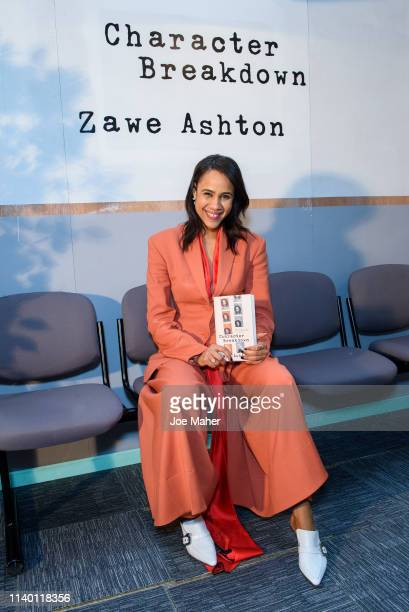 Zawe Ashton at her Character Breakdown by Zawe Ashton book launch at Wild By Tart on April 03 2019 in London England