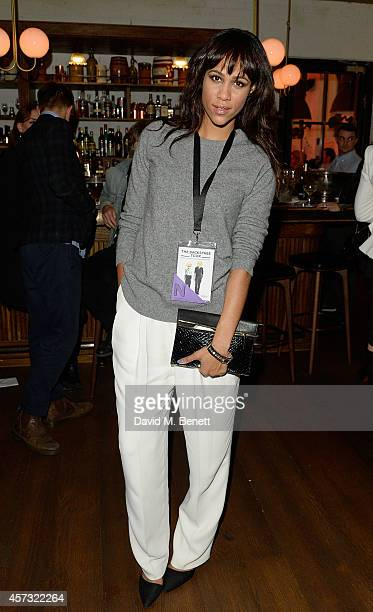 Zawe Ashton attends as the newly opened hotel The Hoxton Holborn launches with an immersive theatre play The Backstage Tour written by Amy Gadney at...