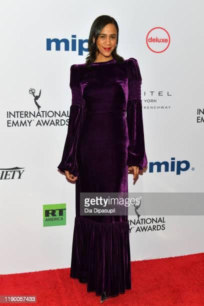 Zawe Ashton attends the 2019 International Emmy Awards Gala on November 25 2019 in New York City
