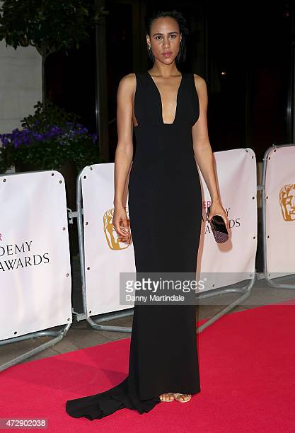 Zawe Ashton attends the After Party dinner for the House of Fraser British Academy Television Awards at The Grosvenor House Hotel on May 10 2015 in...