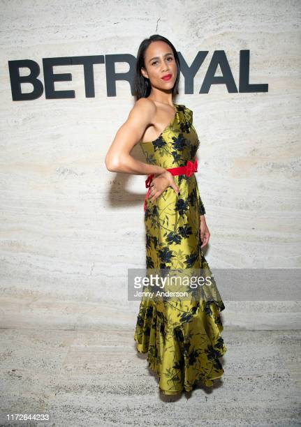 Zawe Ashton attends the Broadway Opening Night of Betrayal at THE POOL in the Seagram Building on September 5 2019 in New York City