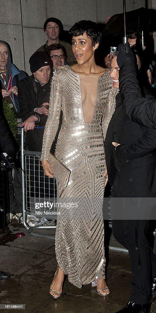 Zawe Ashton sighting on February 11, 2013 in London, England.