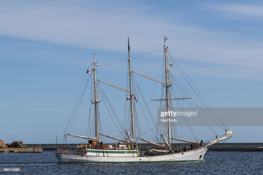 Dar Mlodziezy Ready To Circumnavigate The Globe