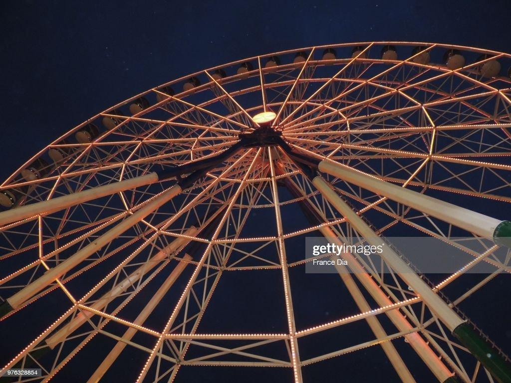 Zawraa Park Ferris Wheel : Stock Photo